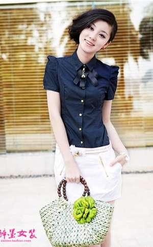 夏装职业装女士衬衣