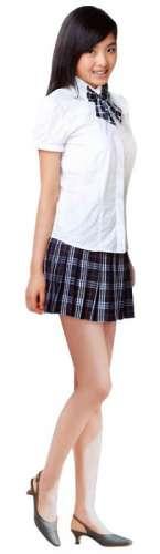 时尚初高中学生制服女装图