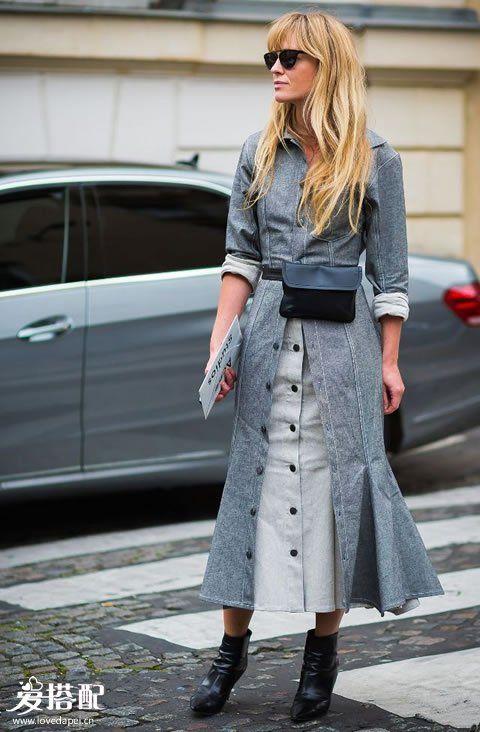 冬季穿半身裙,这8种穿搭优雅又不失温暖