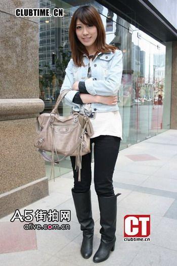 北京街拍美女